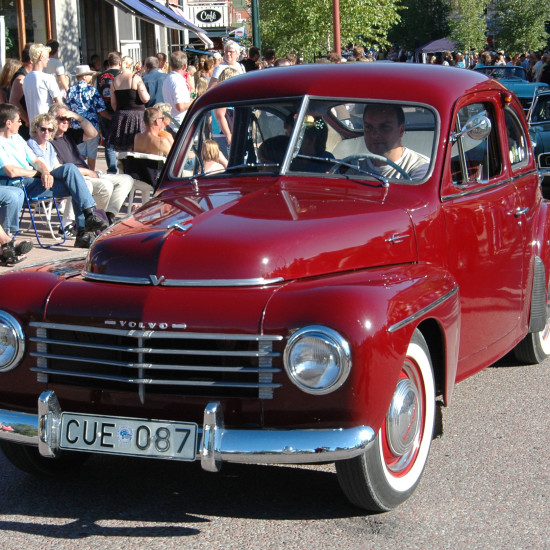 Volvo PV röd
