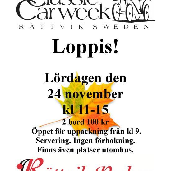 Loppis24nov